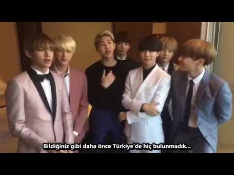 [160620] BTS'in Türkiye'ye mesajı