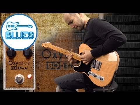 Bo-Effects Oxydrive Transparent Overdrive Pedal (Made in France)
