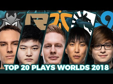 Top 20 Best Plays Worlds 2018 - Group Stage
