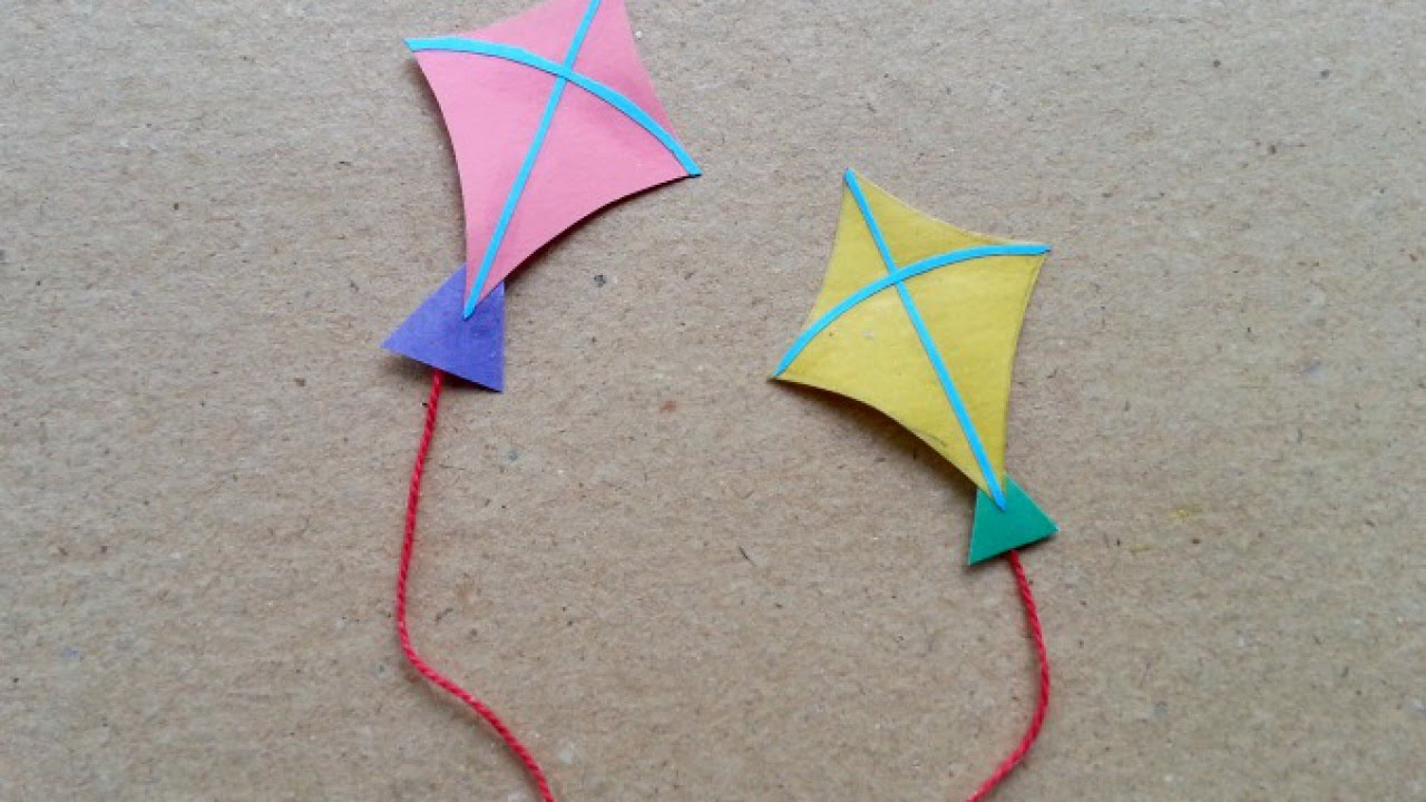 make fun miniature paper kites diy guidecentral youtube