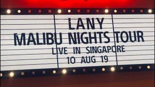 LANY Malibu Nights Tour 2019 - Singapore