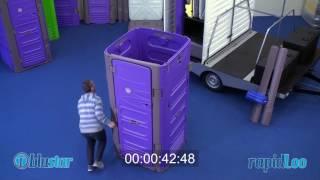 RapidLoo Modular Portable Restroom -  Assembling