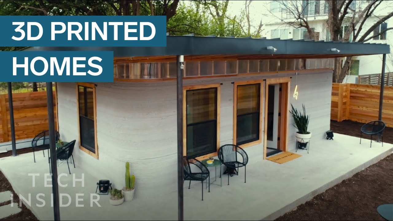 3d printed home can be constructed for under 4 000 youtube for Home 3d