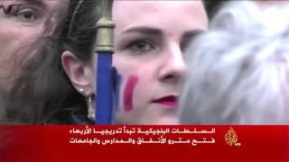 استمرار الاستنفار الأمني في باريس وبروكسل