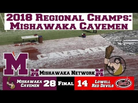 Football: Lowell vs Mishawaka Regionals