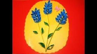 """""""Как сделать Diy Открытки Своими руками С Днём рождения Поделки из бумаги открытка оригами Квиллинг"""""""