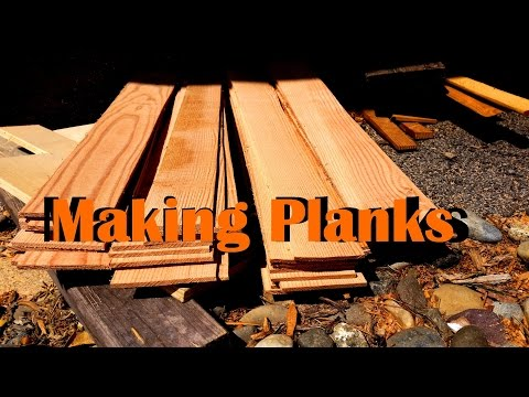 How to Make Boat Planking Boards out of a 2x12