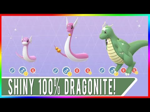 SHINY 100% IV DRATINI COORDS ONLY! LET'S GET PERFECT SHINY D
