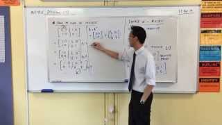 Finding the Inverse of a 2x2 Matrix