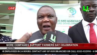 More Companies Support Farmers Day Celebration