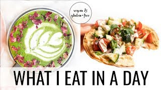 37. What I Eat in a Day + OIL-FREE PIZZA RECIPE!
