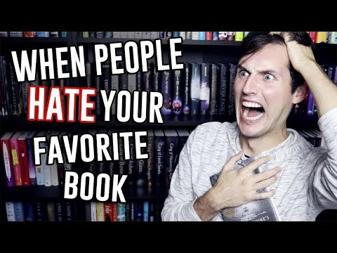WHEN PEOPLE HATE YOUR FAVORITE BOOK