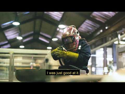 Jade Anderson, Fabricator Welder