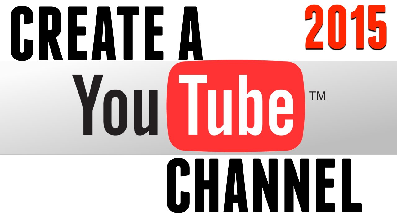 create a youtube channel on ipad