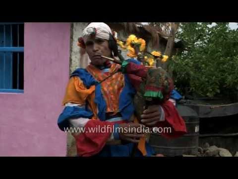 Choliya Bagpiper band plays traditional Kumaoni music
