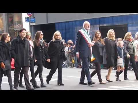 Columbus Day Parade in NYC - Clip 5 - East Meadow High School - Port Authority - Oct 14, 2013