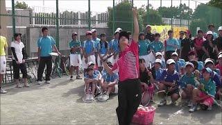 ソフトテニスの動画です。神谷絵梨奈選手(ヨネックス)及び森田奈緒選...