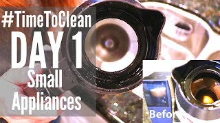 DAY 1 CLEANING SCHEDULE // #TIMETOCLEAN // SPEED CLEANING ROUTINE