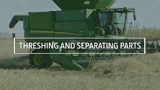 Combine Threshing and Separating Parts