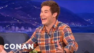 Repeat youtube video Adam DeVine's Mom Is Embarrassingly Proud - CONAN on TBS