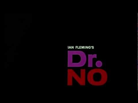 Dr No (1962) James Bond title sequence