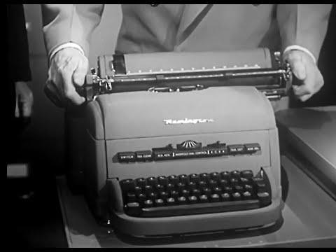 Keys to Electri-conomy: Why Everyone Needs a Remington Typewriter (circa 1951)