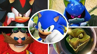 Sonic Boom Rise of Lyric - All Bosses + Cutscenes