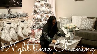 NIGHT TIME CLEANING ROUTINE - CLEAN WITH ME
