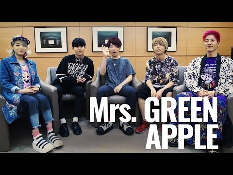 Interview With Mrs. GREEN APPLE