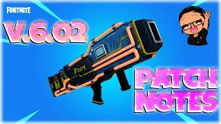Fortnite StW : Version 6.02 Patch Notes - Support-A-Creator ( Pve