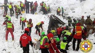Italie : un septième corps sorti des décombres de l'hôtel