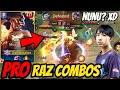 RAZ PRO COMBO - BEST RAZ COMBO LIKE BURIRAM NUNU | AoV | 傳說對決 | RoV | Liên Quân Mobile
