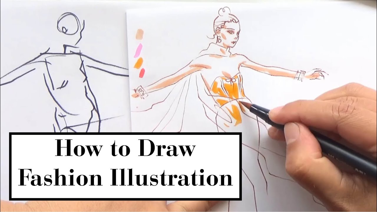 Fashion Illustration Demonstration