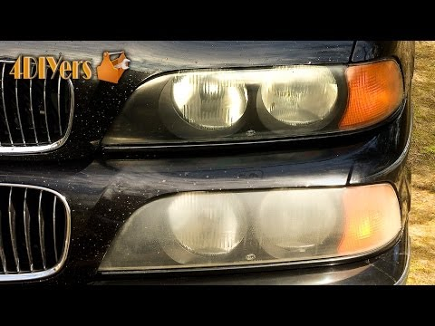 how to clean your car headlights with baking soda
