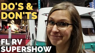 Florida RV Supershow 2019 | Tampa RV Show Tips and Evoke Trailer and Airstream RV Tours