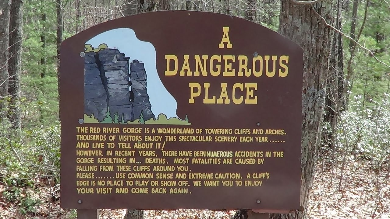 Hiking Red River Gorge Kentucky Part 1 Youtube