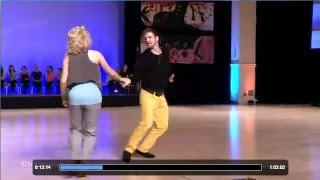 Pete Green & Cameo Cross | Champions Jack&Jill Finals | Swing Diego 2013