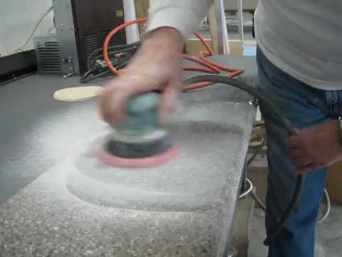 Part 1 Corian Countertop Scratch Repair Video Part 1