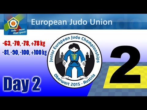 Junior European Judo Championships - Oberwart (AUT) - Day 2 - Tatami 2