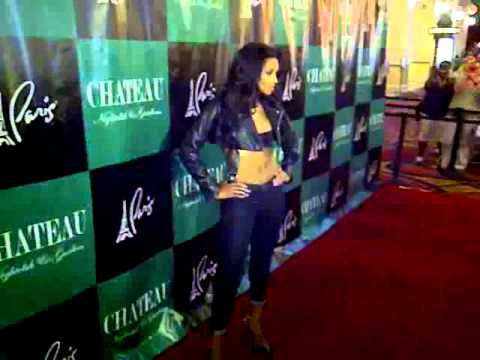 Ciara on The Red Carpet At Chateau Nightclub Las Vegas