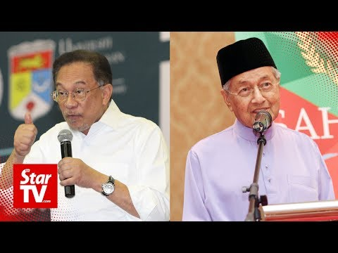 Let it be discussed between me and Mahathir, says Anwar of succession date