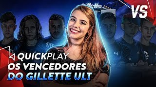 VENCEDORES DO GILLETTE ULT, BATTLE ROYALE EM CS GO | Versus Esports