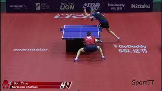 Timo Boll vs Mattias Karlsson [ Japan Open 2018 ]