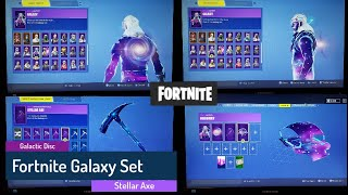 Fortnite - Completing the Galaxy Set - Galaxy Skin - Galactic Disc - Stellar Axe - Discovery