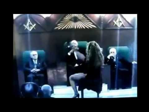 Freemason Illuminati Erotic Performance In side a Masonic Lodge Taken with Hidden Camera