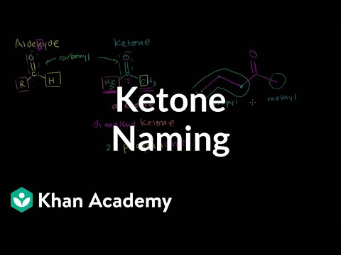 Ketone naming | Aldehydes and ketones | Organic chemistry | Khan Academy