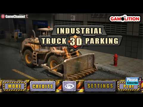 Industrial Truck 3D Parking, New Vehicle Driver Games, Flash Unity Online Gameplay Video