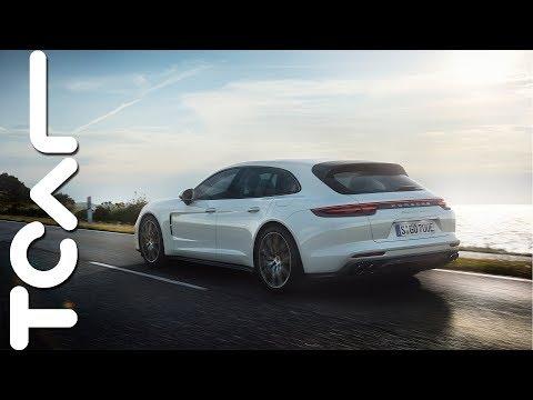 [HD] Porsche Panamera Turbo S E-Hybrid Sport Turismo 海外試駕 - TCAR