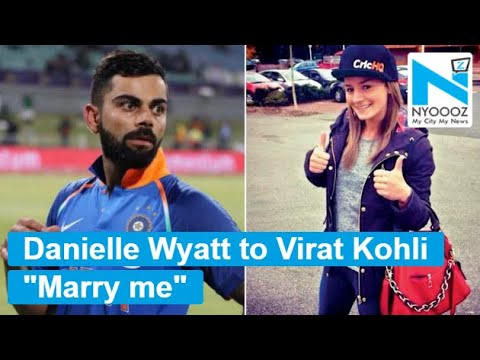 England's Woman Cricketer Danielle Wyatt To Cheer For Virat Kohli Alongside Anushka | NYOOOZ TV