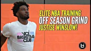Justise Winslow OFF SEASON GRIND!! ELITE NBA Workout w/ Stan Remy!